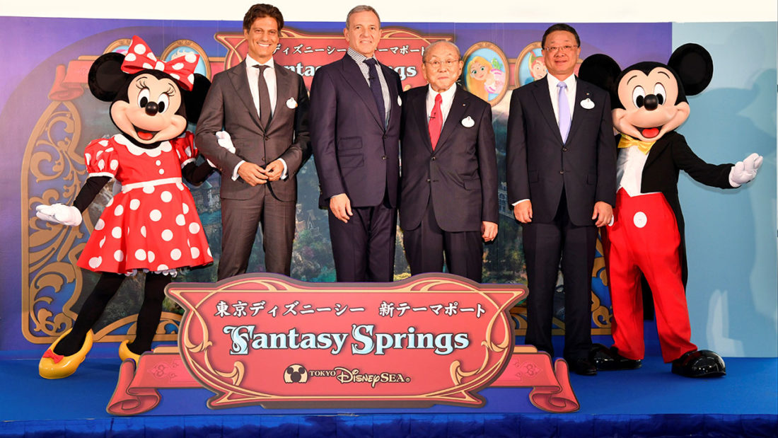 Tokyo DisneySea to Get Even More Grand with Fantasy Springs Port Opening in 2022
